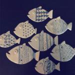 fish cotto smaltato