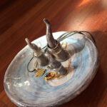porta anelli in ceramica