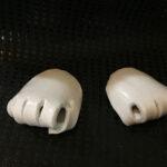 punch arte 3d ferma tovaglioli in ceramica bianca