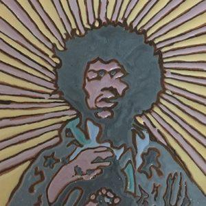 icona Jimi Hendrix