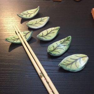 segnaposto foglie
